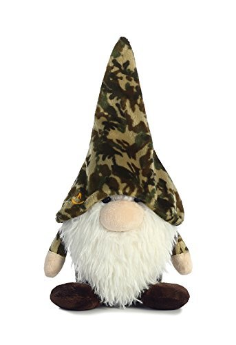 Aurora World Forest Gnomlin Plush, Green Camo, 7.5/Small by Aurora World