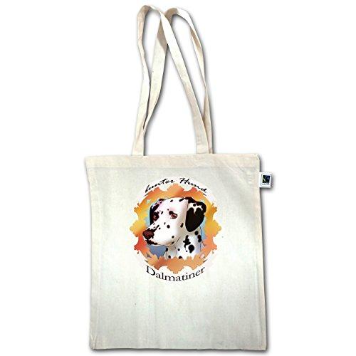Cani - Dalmata - Cane Colorato - Unisize - Natural - Xt600 - Manico Lungo In Juta