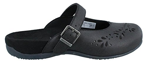 Vionic with Orthaheel Technology Rest Midway Womens Mule Mary Jane Black Size 9