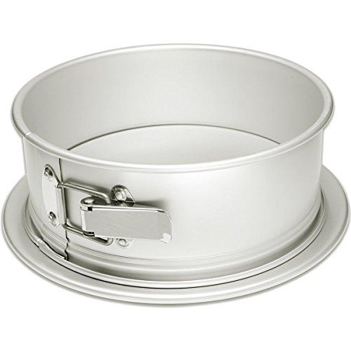Fat Daddio's Anodized Aluminum 9 Inch x 3 Inch Round Springform Cake (World Kitchen Springform Pan)