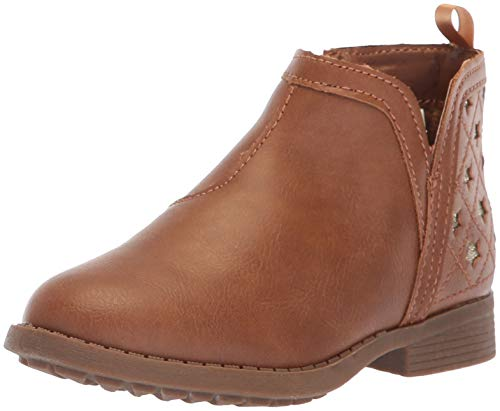 OshKosh B'Gosh Girls' Ivy Ankle Boot, Brown, 6 M US Toddler