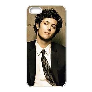 Adam Brody Hd1 funda plástica iPhone 5 caja del teléfono celular 5S funda funda caja del teléfono celular blanco cubre ALILIZHIA04072