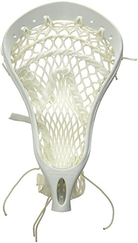 Warrior REV2 PP Strung Lacrosse Head, White, HS (Best Strung Lacrosse Heads)