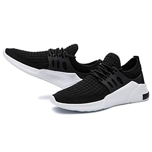 Uomo Sneakers Running Traspirante 1 Fitness zhenghewyh nero Sport Scarpe AwqxgdAtRO