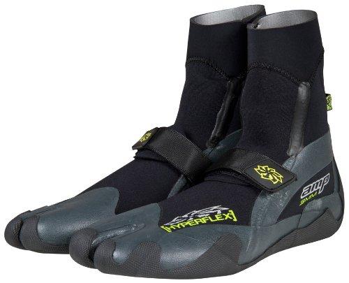 Hyperflex AMP 5mm Split Toe Boot, 11 - Surfing, Windsurfing & Wakeboarding by Hyperflex