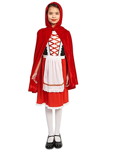 Red Riding Hood Classic Child Costume M (8-10) - Red Riding Hood Classic Child Costumes