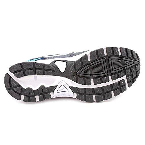 Nike Dart 10 (GS/PS) Zapatillas de running, Niños Gris / Plateado / Negro (Drk Grey / Mtllc Slvr-Vvd Bl-Blk)