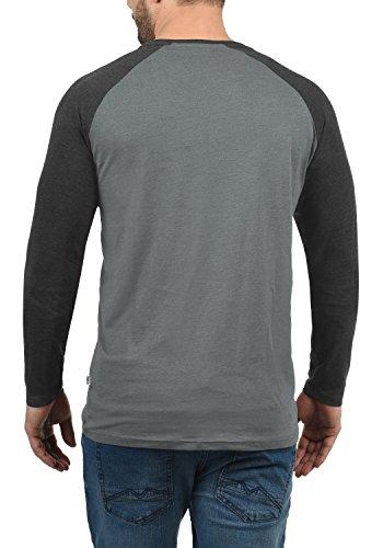 Bastien hombre s de de Camiseta manga larga PnXw1a