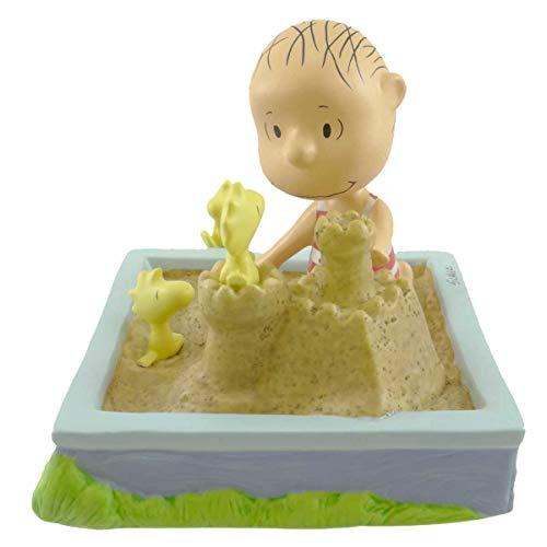 Hallmark Peanuts Gallery Linus King of the Sandbox Figurine