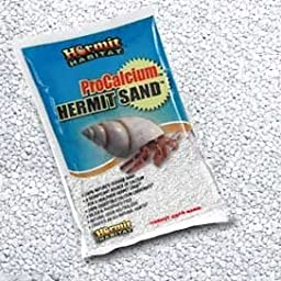 World Wide Imports Hermit Habitat Substrate, Snow White, 5 lb