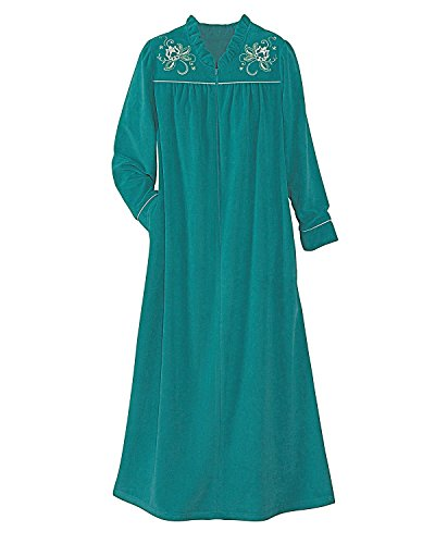 National Quick Dry Micro Terry Robe Jade product image