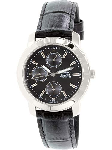 Casio Enticer Analog Black Dial Men's Watch - MTP-1192E-1ADF (A167)