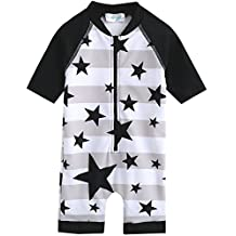 Vaenait Baby 0-24M Baby Boys Swimsuit Rashguard Swimwear With Star Baby