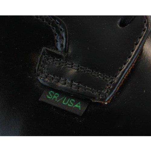 8 In 001001d Scarpe Nero Wing Uomo Stringate Postman Pelle Rosso wvnz7Tqx6w