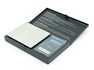 Digital Pocket Scale 1000g x 0.1g Gram Troy Ounce Dwt Ozt Penny Weight Digiweigh Free Puritest 5g Gold Bar Included