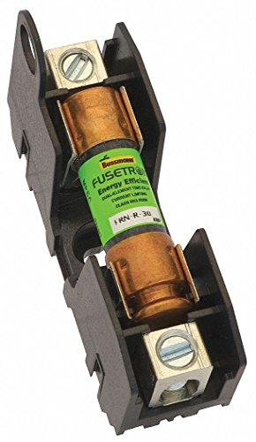 2-Pole Industrial Fuse Block, AC: 250VAC, DC: 125VDC, 0 to 30A, Series NON by Eaton Bussmann