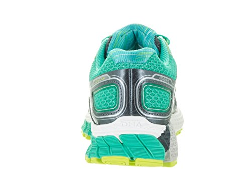Brooks Adrenaline GTS 16 - Zapatillas de Entrenamiento Mujer Anthracite/Aqua Green/Lime Punch
