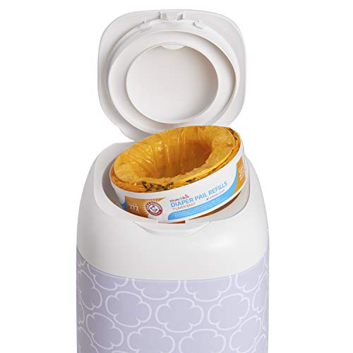 41vo1nGkWFL - Munchkin Arm And Hammer Diaper Pail Refill Rings, 544 Count