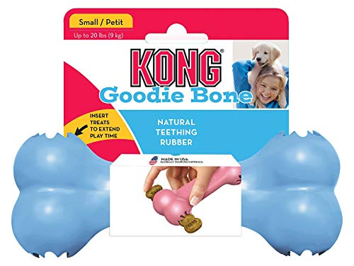 KONG - Puppy Goodie Boneª - Teething Rubber,...