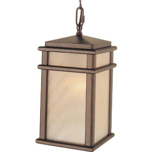 - Feiss 1 - Light Pendant, Corinthian Bronze
