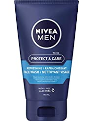NIVEA FOR MEN Original Moisturizing Face Wash 5 oz