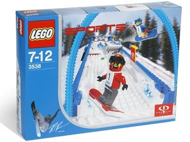 LEGO Sports Gravity Games 3538 Snowboard Boarder Cross Race by LEGO