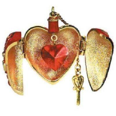 Ornament Miniature Heart - Hallmark 2004 Ornament Miniature Charming Hearts # 2 Series