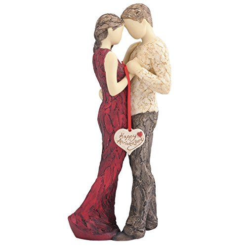 More Than Words Happy Anniversary Figurine by Arora Design Ltd