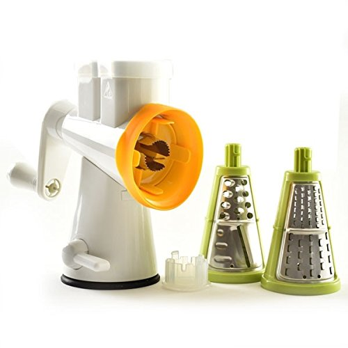 NorPro 391 Double Barrel Grater/Slicer with Corn Cutter