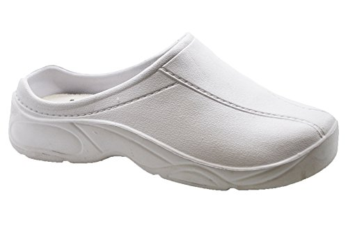 d7c1a96c1d8 Hey Medical Uniforms Lightweight Open-Back Nursing and Gardening Slipper  Clogs