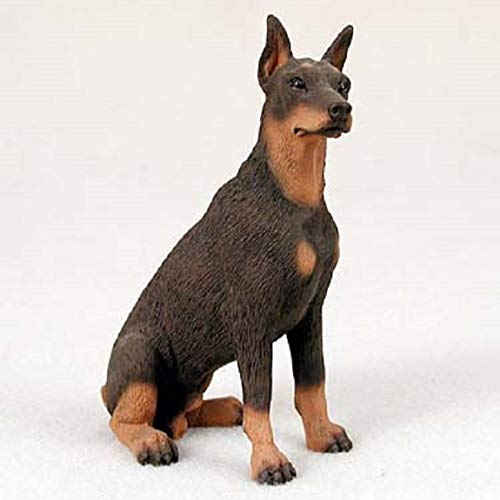 (Doberman Figurine Red)