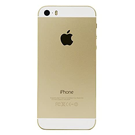 62637130886 Amazon.com: Apple iPhone 5S Gold 16GB Unlocked GSM Smartphone (Certified  Refurbished): Cell Phones & Accessories