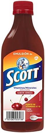 Emulsión de Scott Multivitamínico Sabor Cereza 200ml
