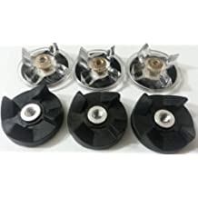 Blendin Lot of 6 Base Gear and Blade Gear Replacement Part for Magic Bullet Blenders