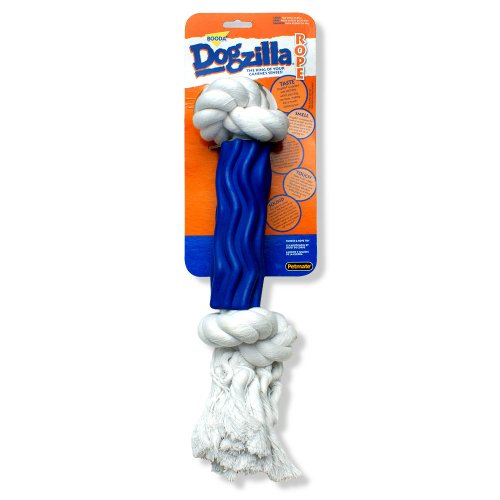Petmate Dogzilla Rope Dog Toy Swirl, Large, My Pet Supplies