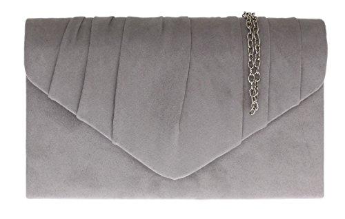 Girly Handbags - Cartera de mano Mujer gris