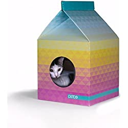 Milk Carton House of Cat Decoration Home (P1)