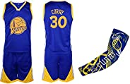 Fan Kitbag Steph Curry Jersey Kids Basketball Blue Curry Jersey & Shorts Youth Gift Set ✓ Basketball Compr