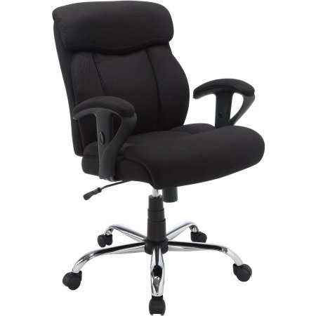 Deluxe Executive Big & Tall Commercial Office Chair, Padded Back with Memory Foam for Maximum Comfort (30.25