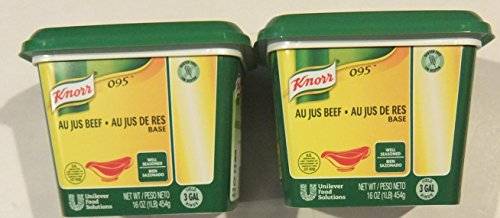 Knorr LeGout 095 Au Jus Beef Base Gluten Free 16 ounce (Pack of 2)