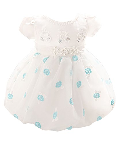 Price comparison product image Flower Girl Dress 1104, 6 Months, Blue