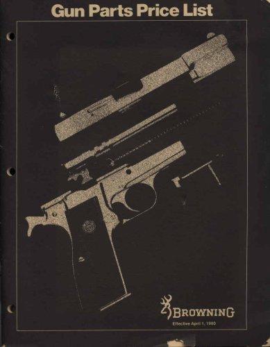 Browning Gun Parts Price List