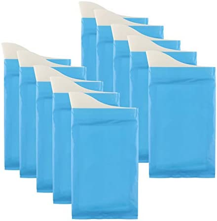 8pcs Disposable Urine Bags Car Emergency Inpatients Urinal Wee Pee Bags