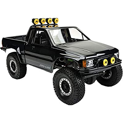 Proline 346600 1985 Toyota Hilux SR5 Clear Body (Cab & Bed) for SCX10 Trail Honcho: Toys & Games