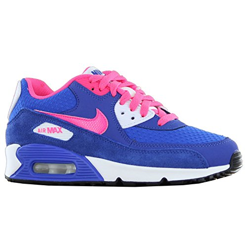 Nike Air Max 90 2007 GS Blue Youths Trainers