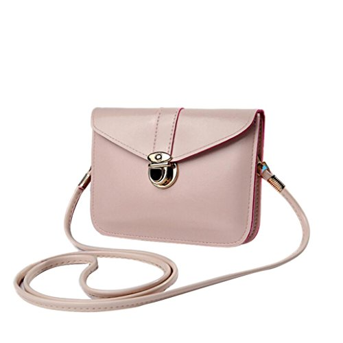 Clearance Rakkiss Womens Bag Fashion Zero Purse Bag Leather Handbag Single Shoulder Messenger Phone Bag (D) (Bags Designer Miu Miu)