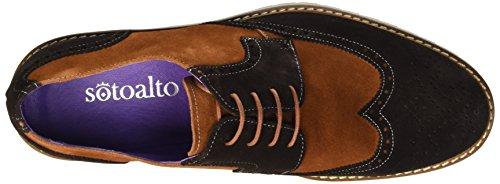 Sotoalto Herren Blucher Schuh mehrfarbig (MARRON /CUERO)
