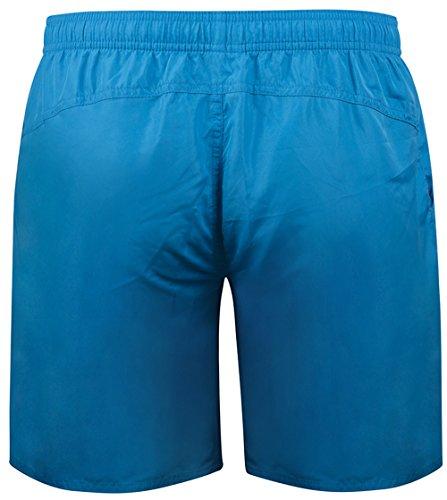malla Bermudas de en f Correr deslizamiento con Azul Pantalones Deporte Ocio Skmf001 hombres fitness 4 interno para cortos RqznwqO