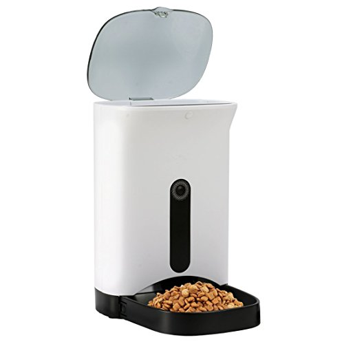 Automatic Smart APP Pet Feeder for Dog or Cat, Automatic APP Feeder, Smart Feeder Automatic Pet Feeding with Your Phone by Yaufey
