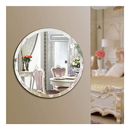 Beauty4U Round Beveled Frameless Wall Mirrors - 20